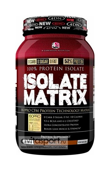 4D Nutrition Isolate Matrix 1372 г