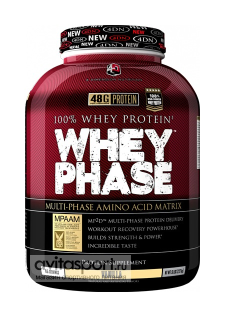 4D Nutrition Whey Phase 2270 г