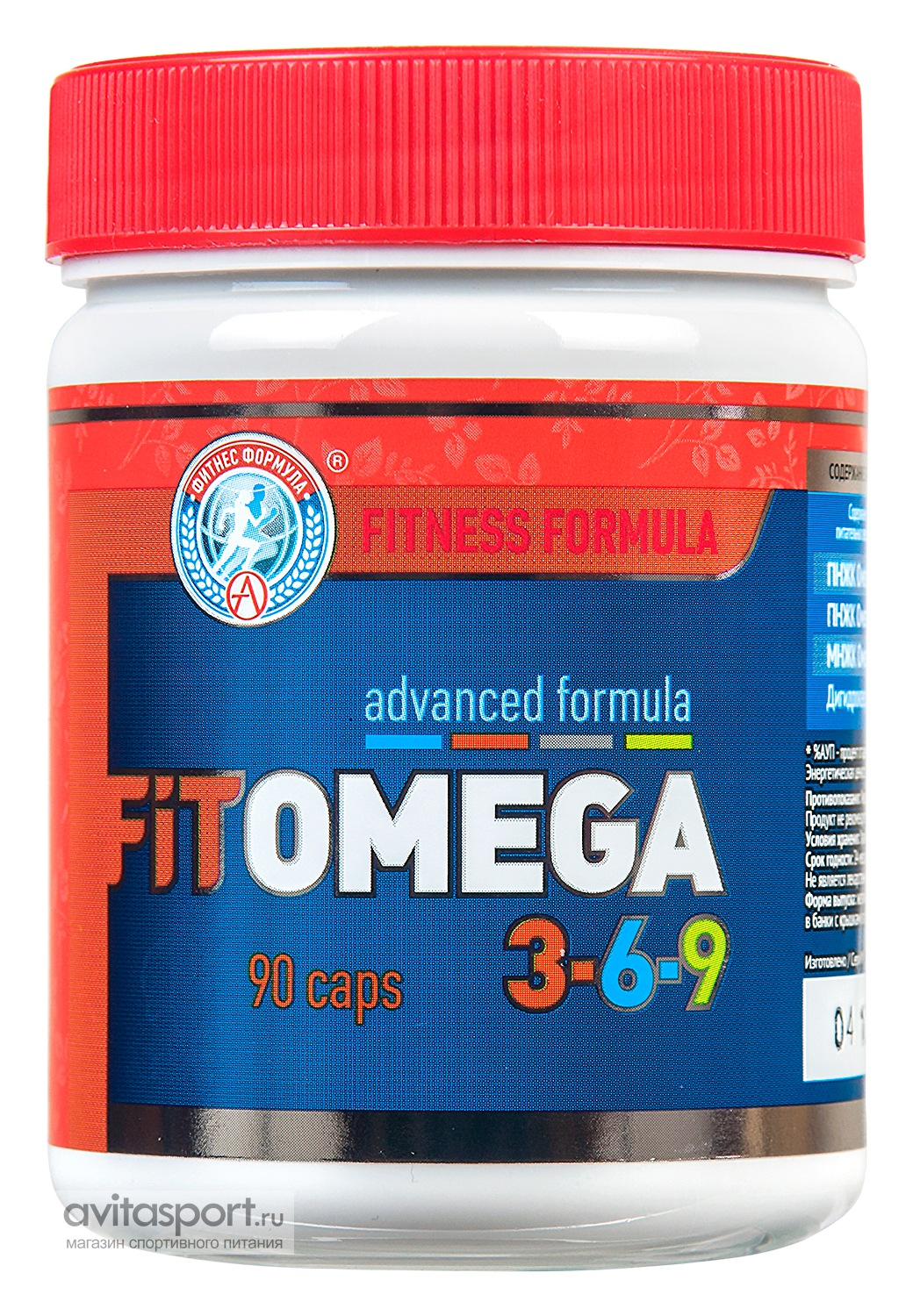 Academy-T Fit Omega 3-6-9 90 капсул