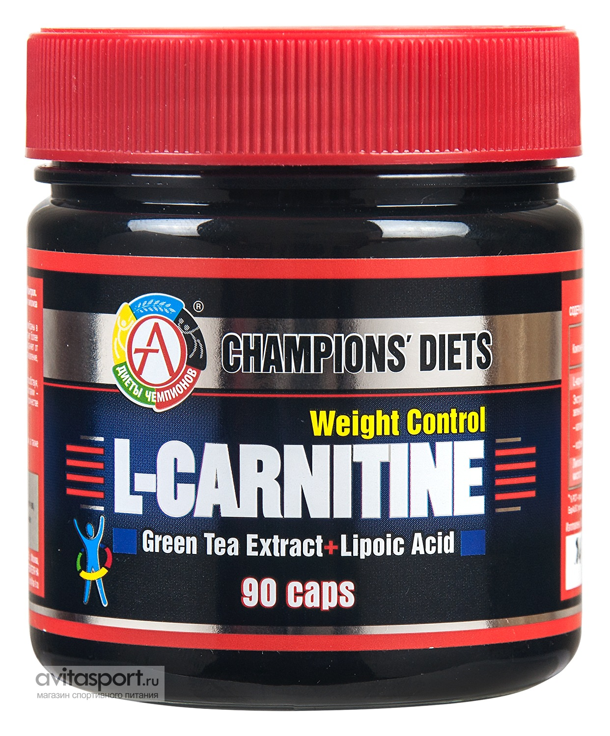 Academy-T L-Carnitine Weight Control 90 капсул