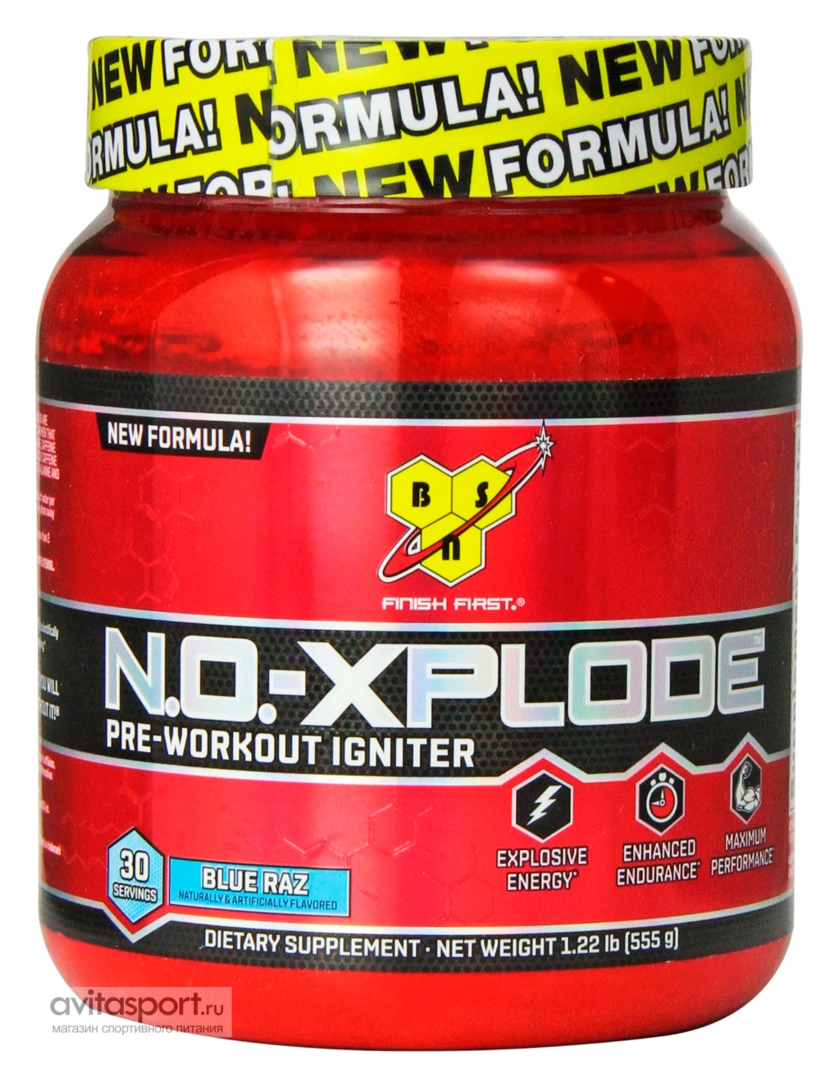 BSN NO-Xplode Pre-Workout Igniter 555 г (30 порций)