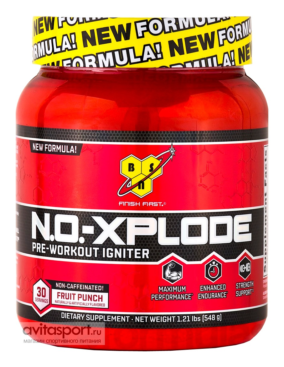 BSN NO-Xplode Pre-Workout Igniter Non-Caffeinated 548 г