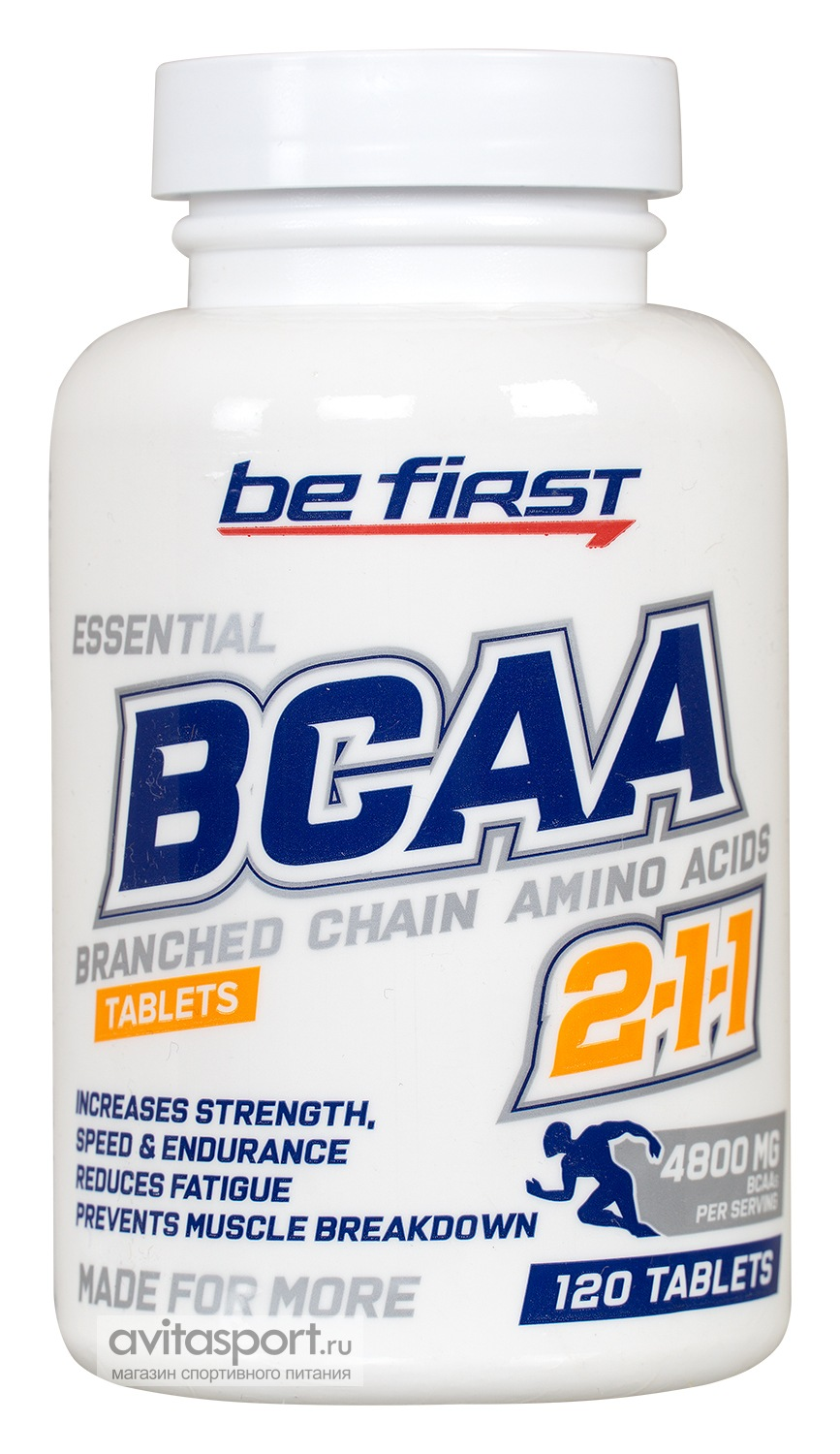 Be First BCAA 2:1:1 Tablets 120 таблеток