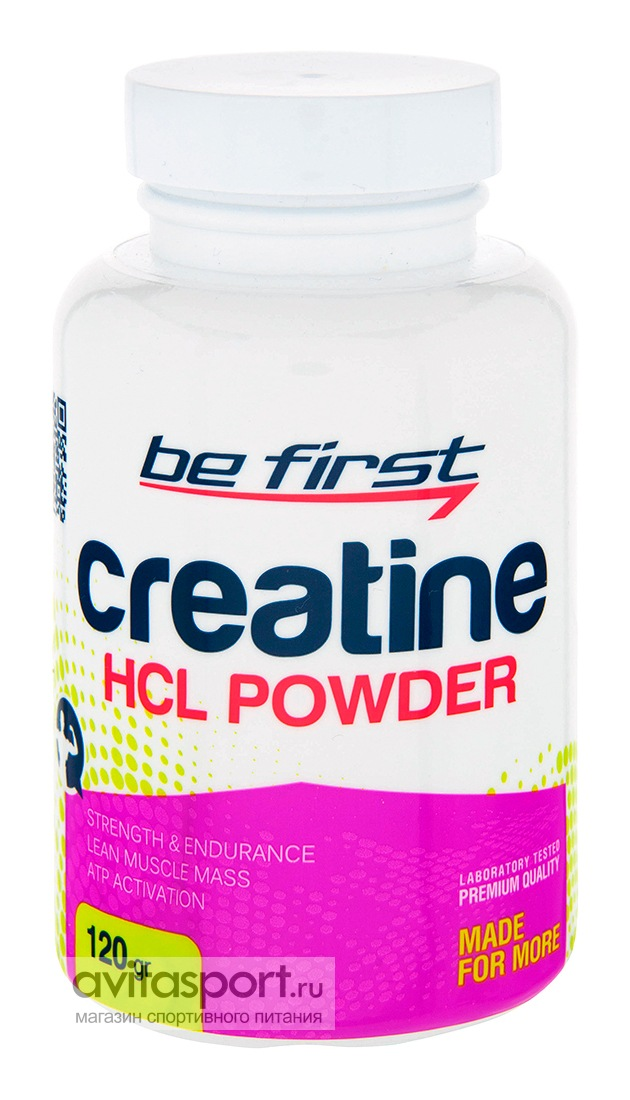 Be First Creatine HCL Powder 120 г