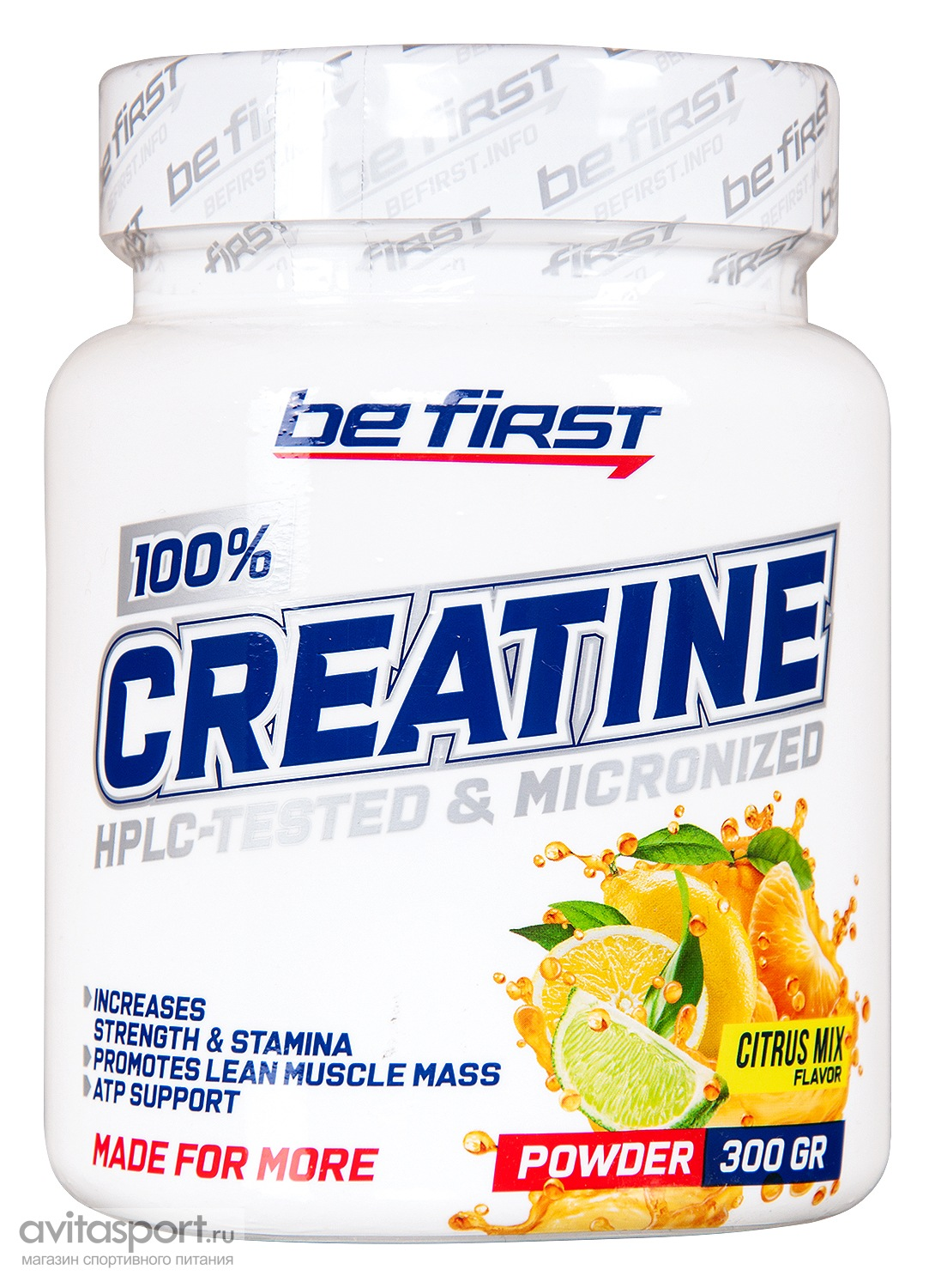 Be First Creatine Monohydrate Powder 300 г