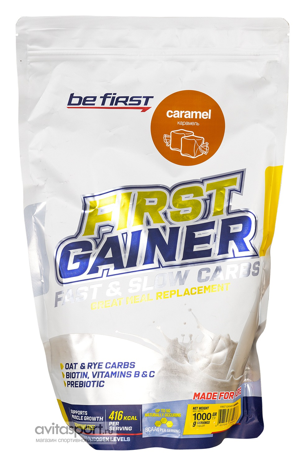 Be First First Gainer Fast & Slow Carbs 1000 г