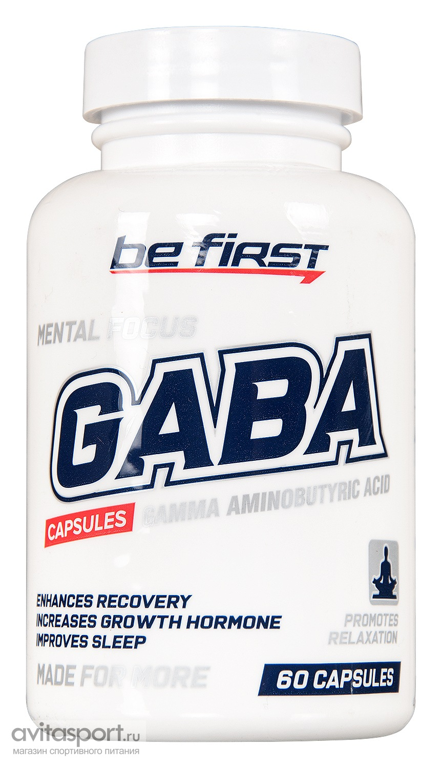 Be First GABA Capsules 60 капсул