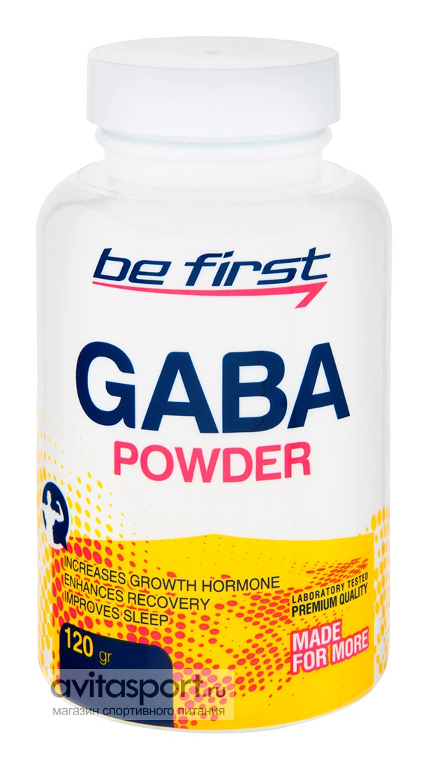Be First GABA Powder 120 г