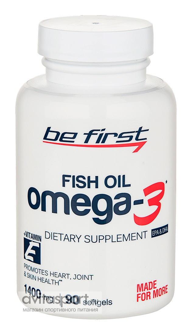 Be First Omega 3  90 гелевых капсул