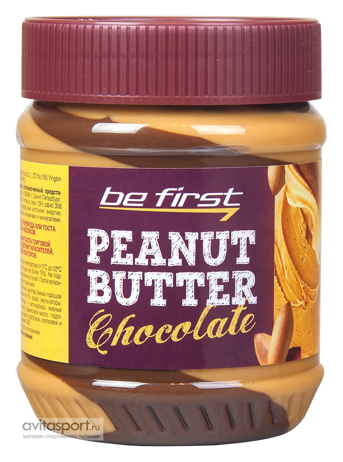 Be First Peanut Butter 340 г / Chocolate