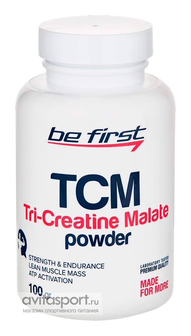 Be First TCM Tri-Creatine Malate Powder 100 г