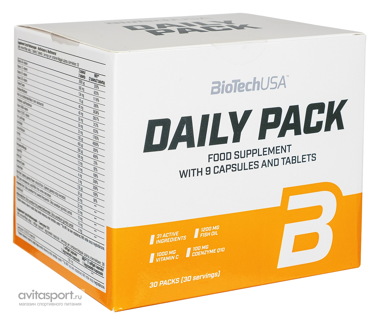 BioTech Daily Pack 30 пакетиков
