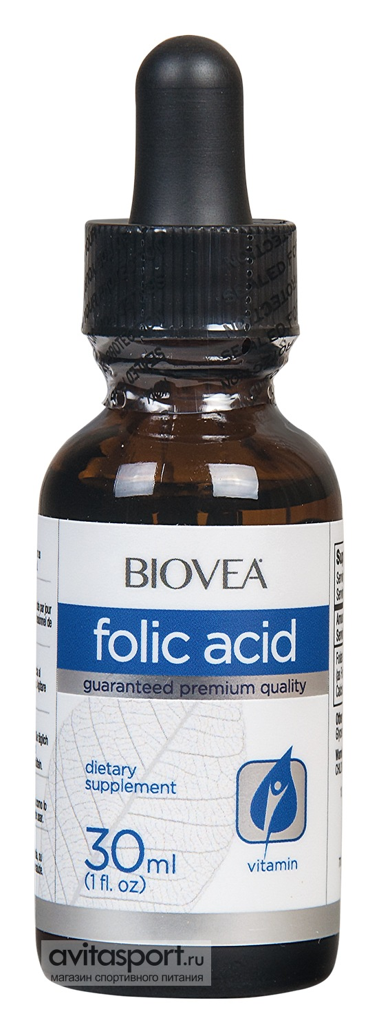 BioVea Folic Acid Liquid Drops 30 мл