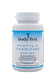 Body First Acetyl L-Carnitine 100 капсул
