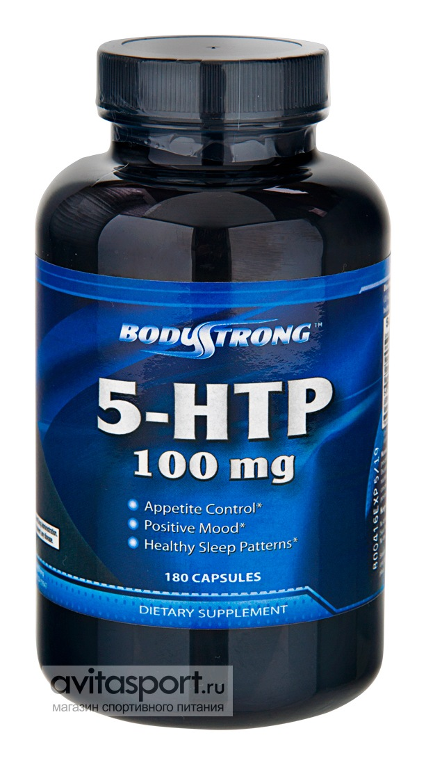 BodyStrong 5-HTP 100 мг / 180 капсул