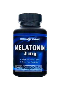 BodyStrong Melatonin 3 мг / 90 таблеток