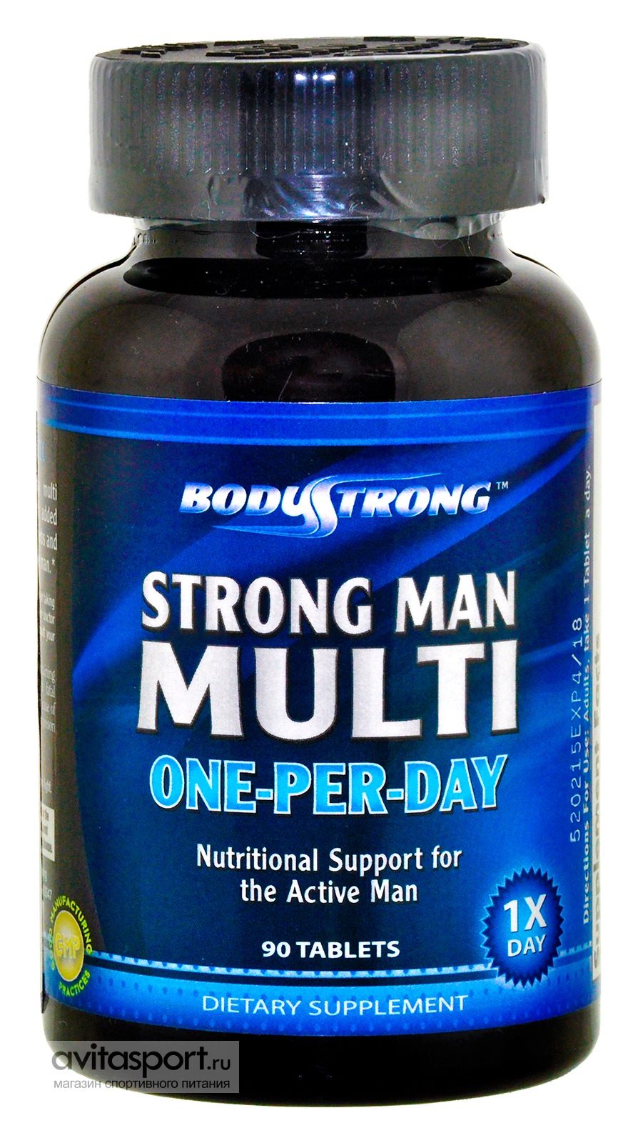BodyStrong Strong Man Multi One-Per-Day 90 таблеток