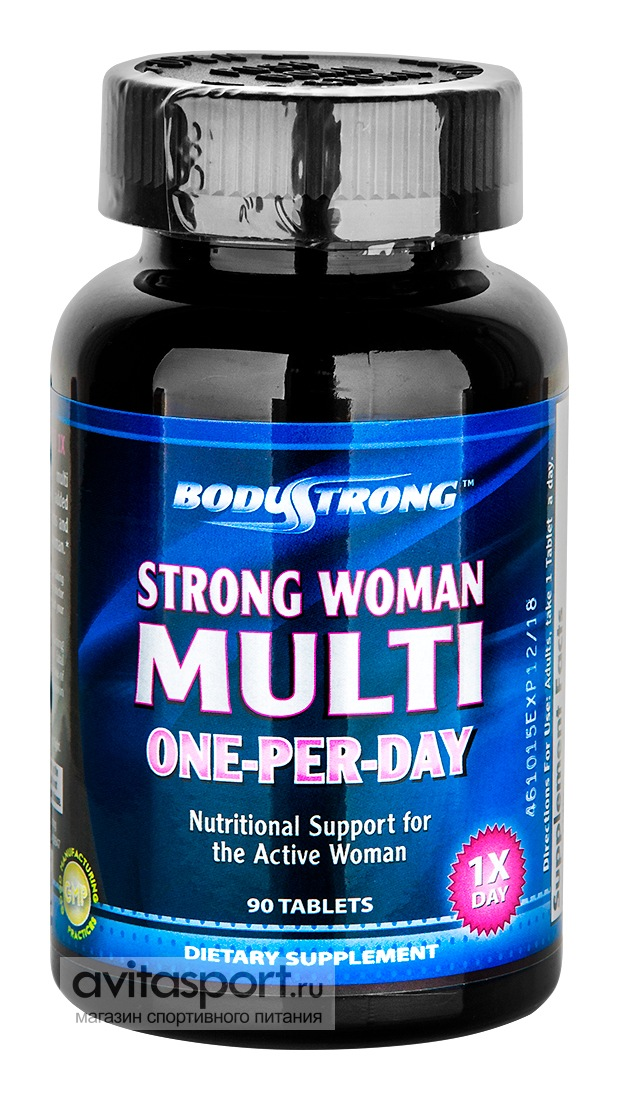BodyStrong Strong Woman Multi One-Per-Day 90 таблеток