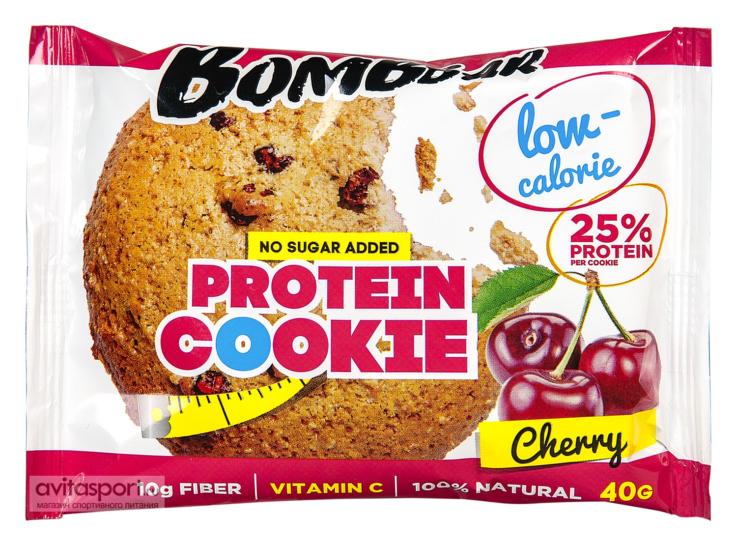 Bombbar Печенье Protein Cookie Low-Calorie 40 г