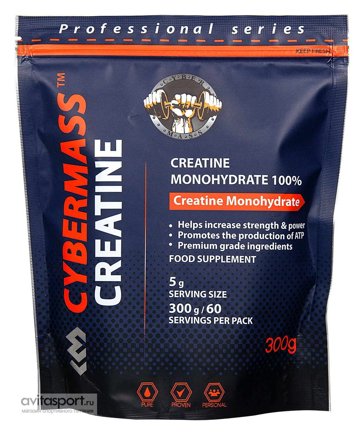 CyberMass Creatine Professional Series 300 г