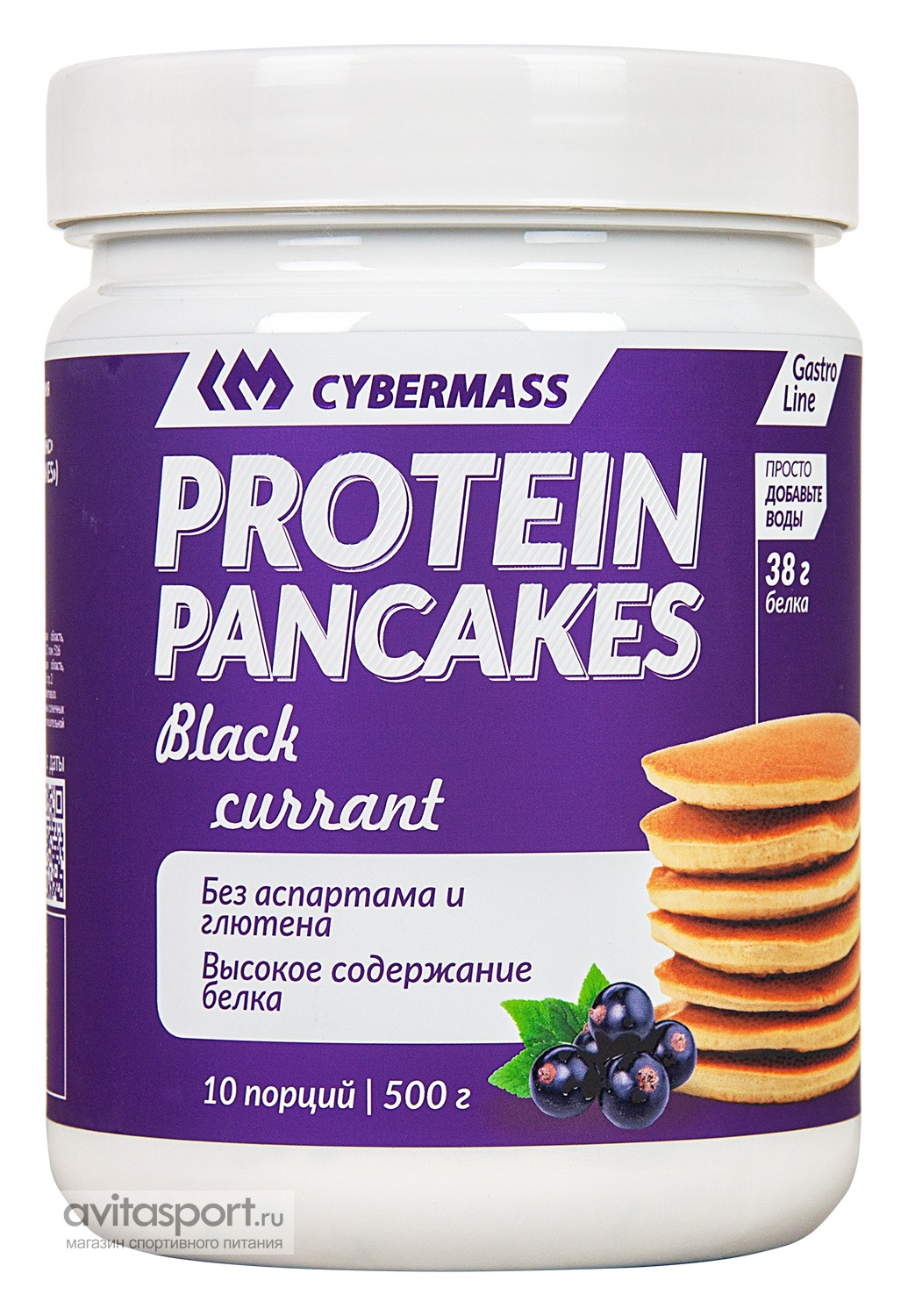 CyberMass Protein Pancakes 500 г