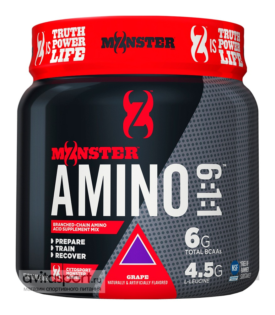 CytoSport Monster Amino 6:1:1 300 г