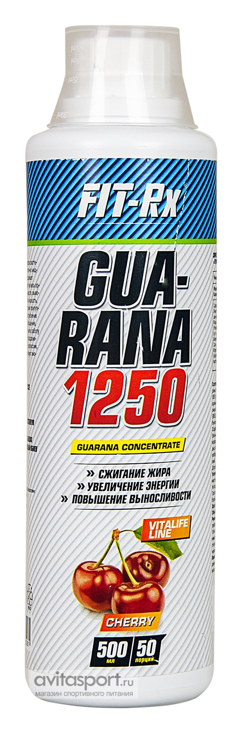 FIT-Rx Guarana 1250 500 мл