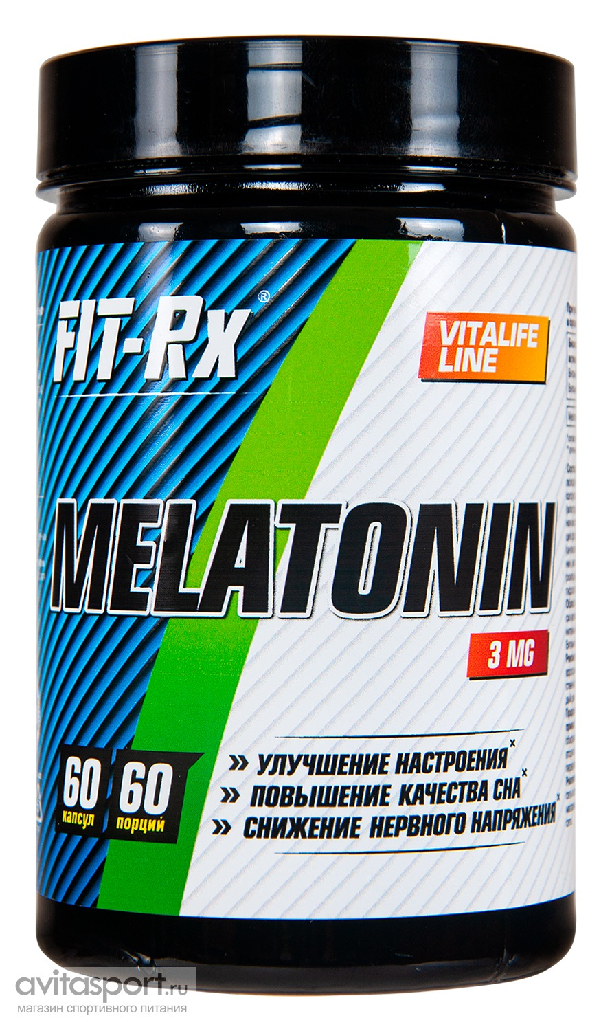 FIT-Rx Melatonin 3 мг  / 60 капсул