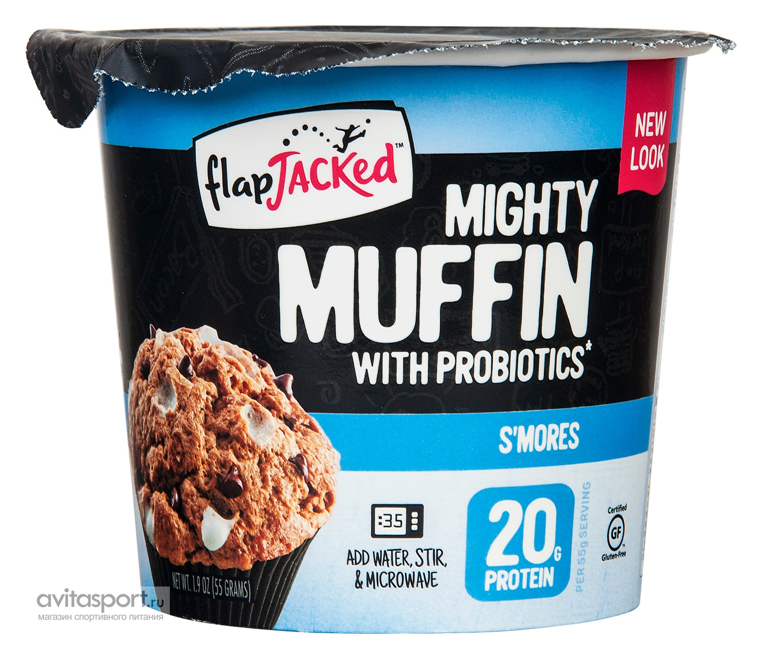 FlapJacked Mighty Muffin 55 г