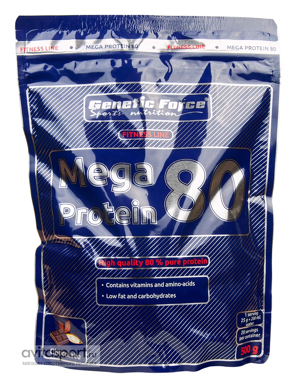Genetic Force Mega Protein 80 500 г
