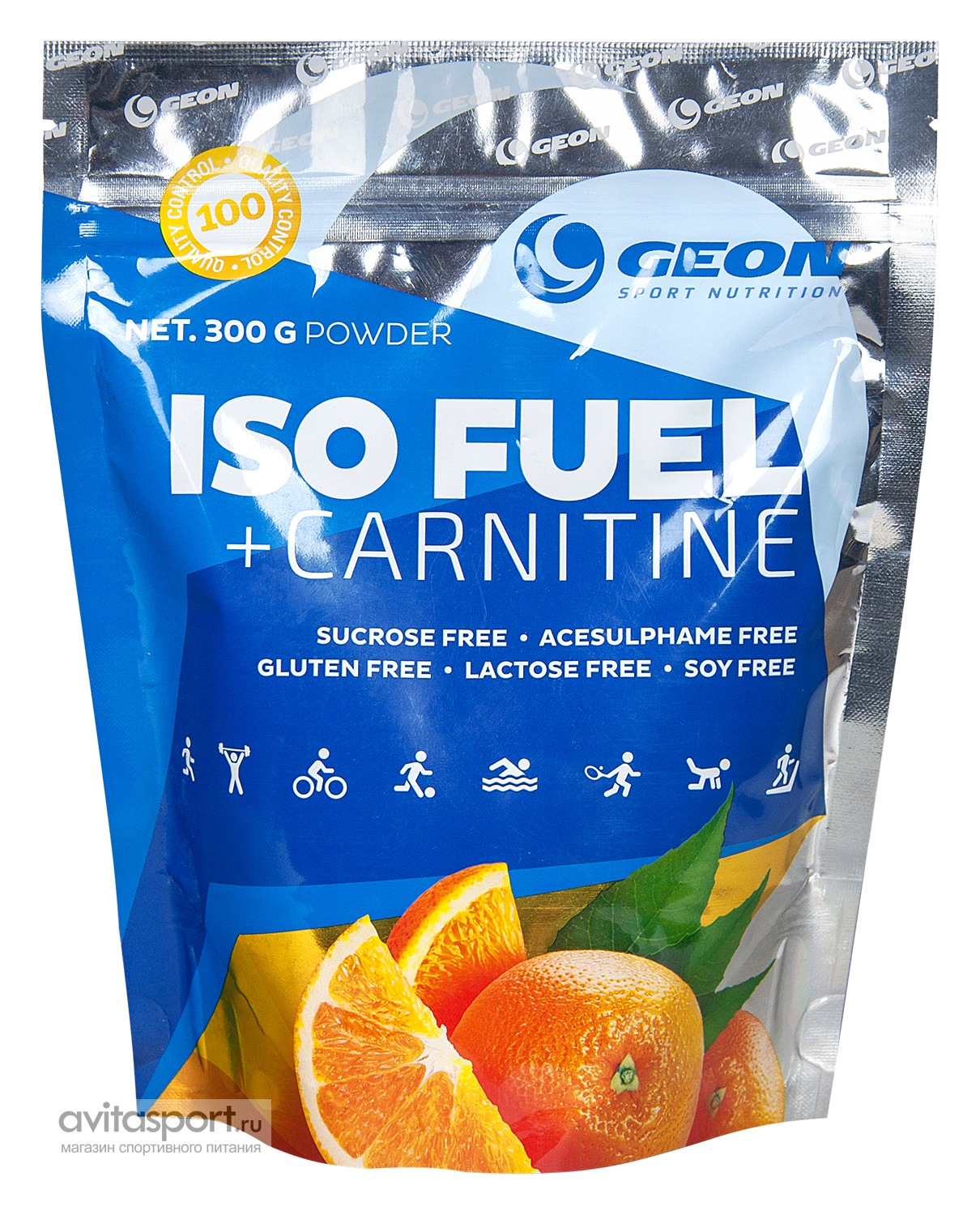 Geon Iso Fuel + Carnitine 300 г