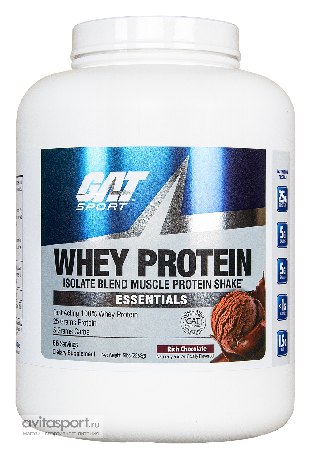 German American Technologies Whey Protein 2270 г
