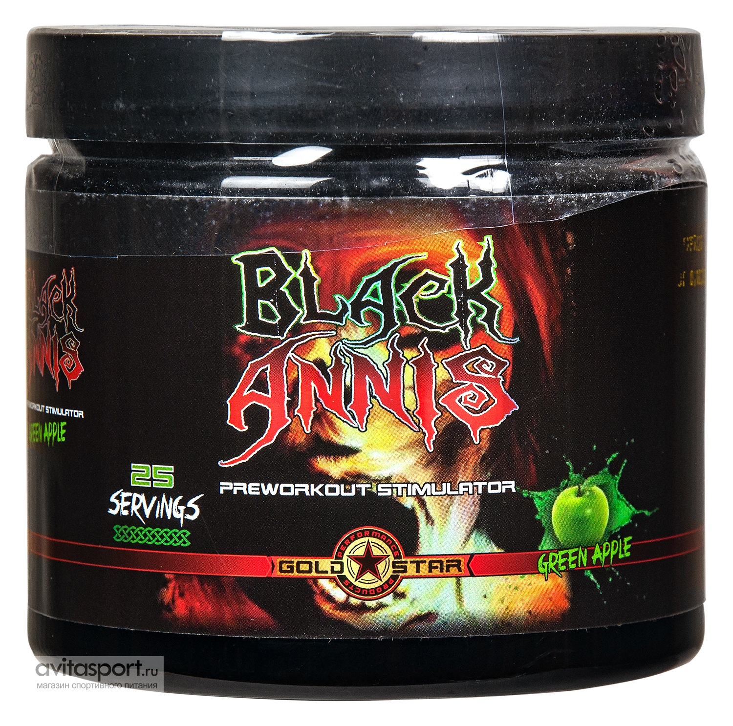 Gold Star Black Annis 300 г / 25 порций