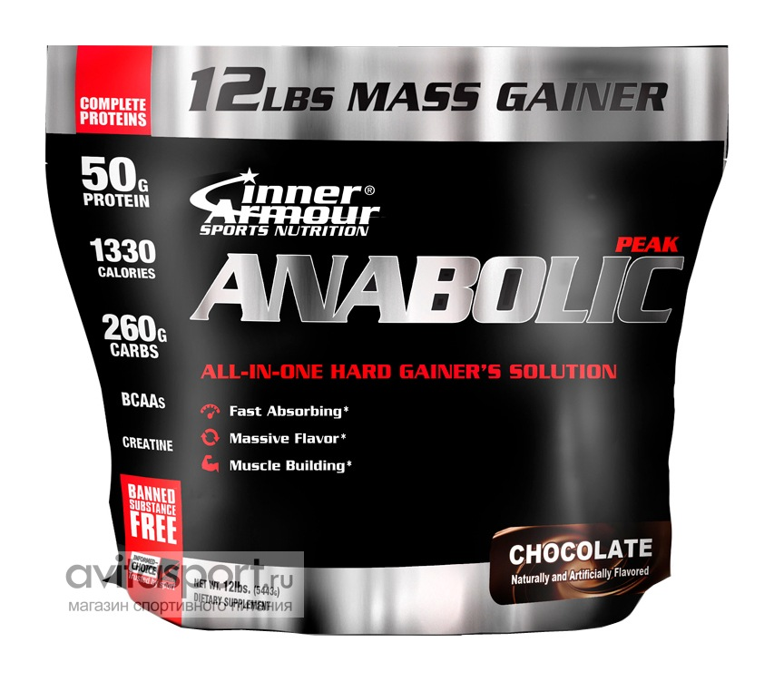 Inner Armour Anabolic Peak Gainer 5443 г