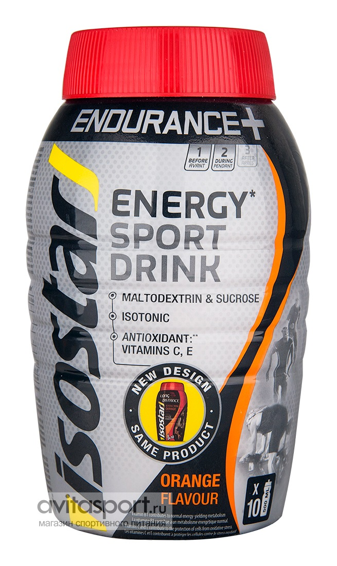 Isostar Energy Sport Drink (Long Distance Energy) 790 г
