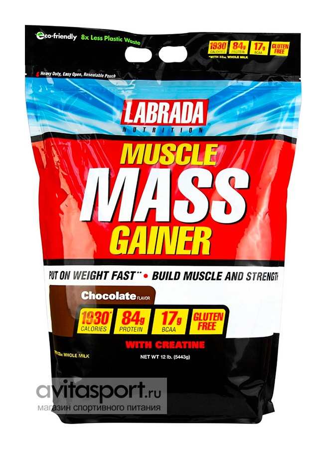 Labrada Muscle Mass Gainer 5443 г