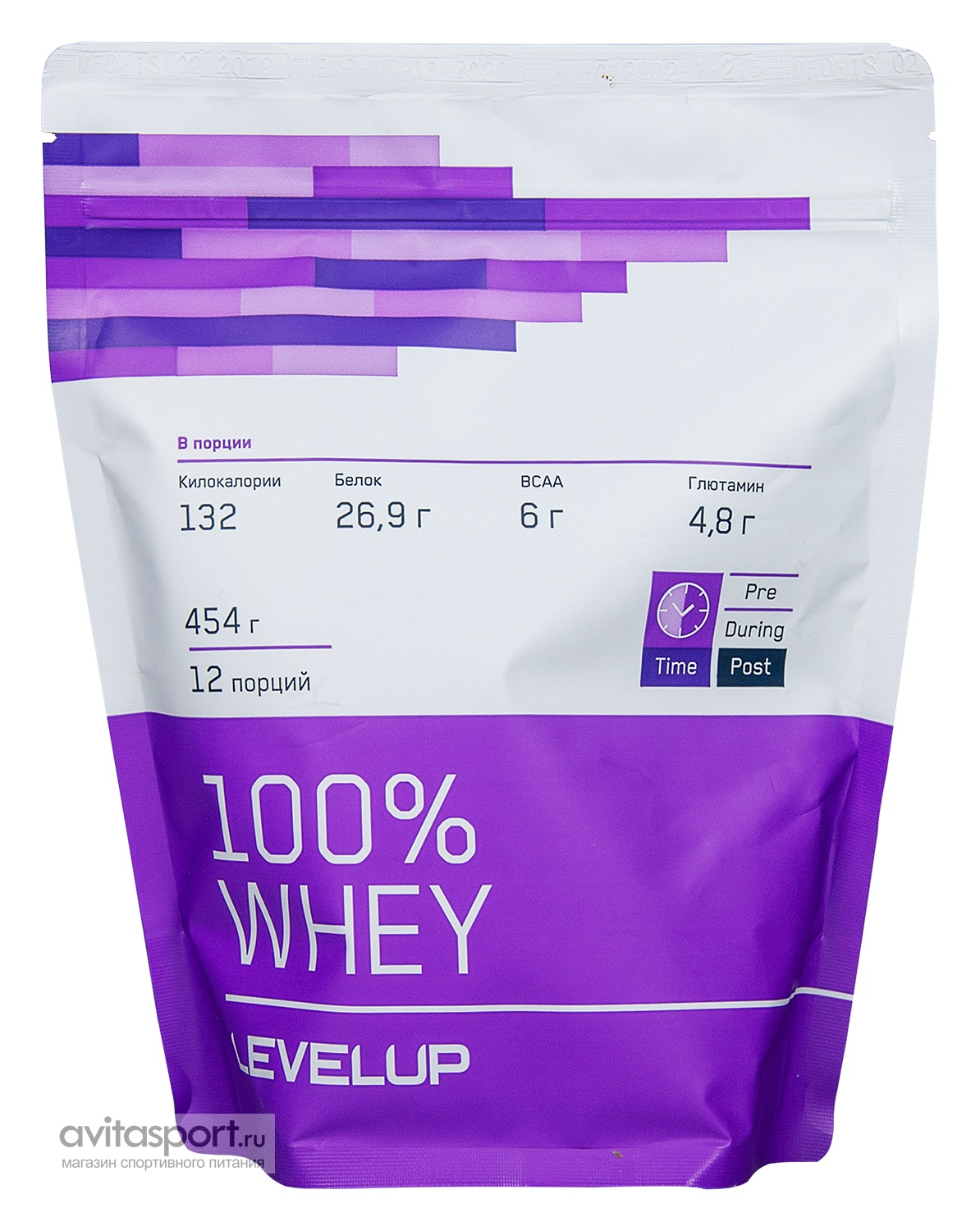 LevelUp 100% Whey 454 г