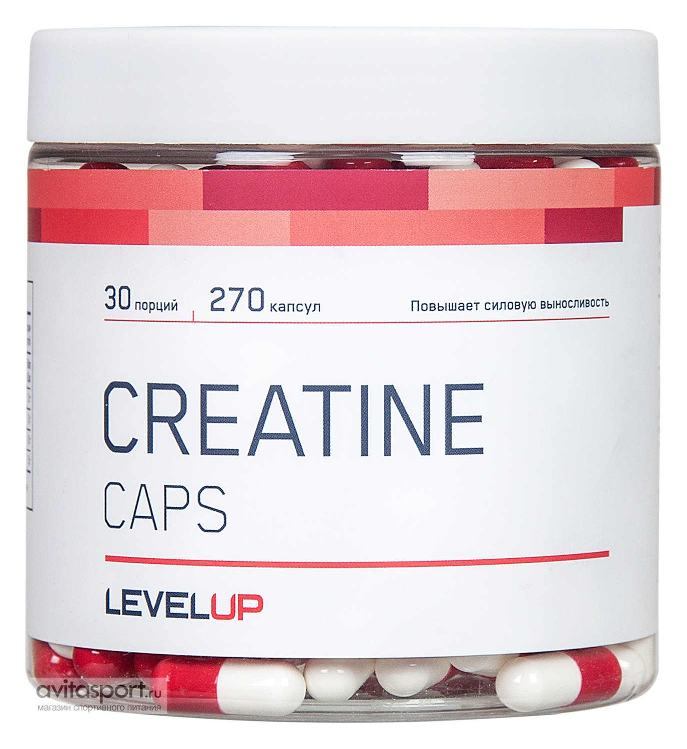 LevelUp Creatine Caps 270 капсул
