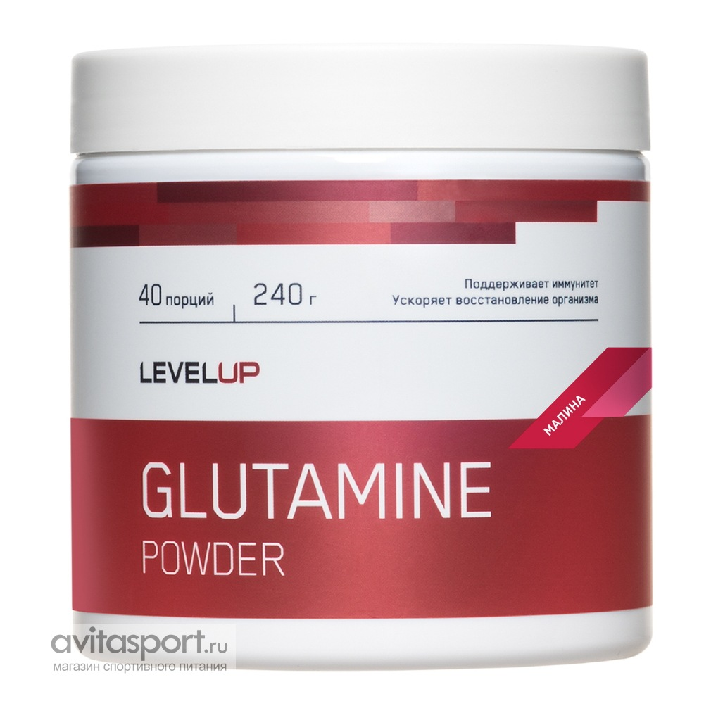 LevelUp Glutamine Powder 240 г