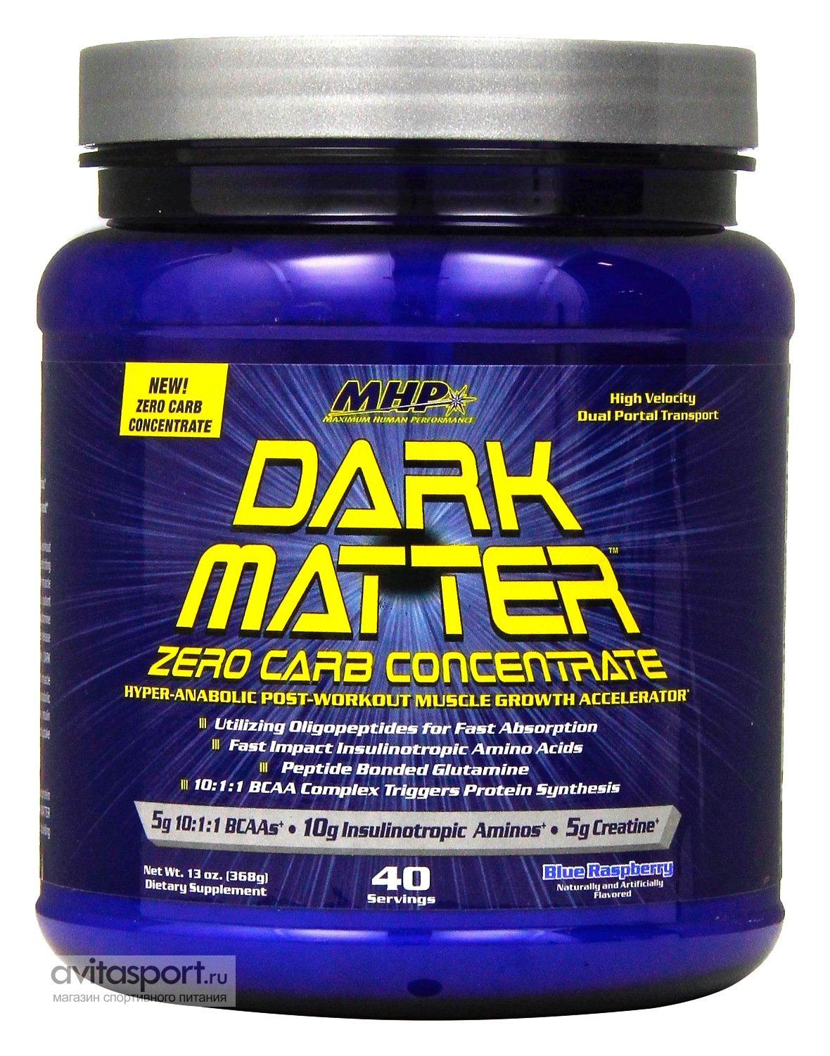 MHP Dark Matter Zero Carb Concentrate 368 г