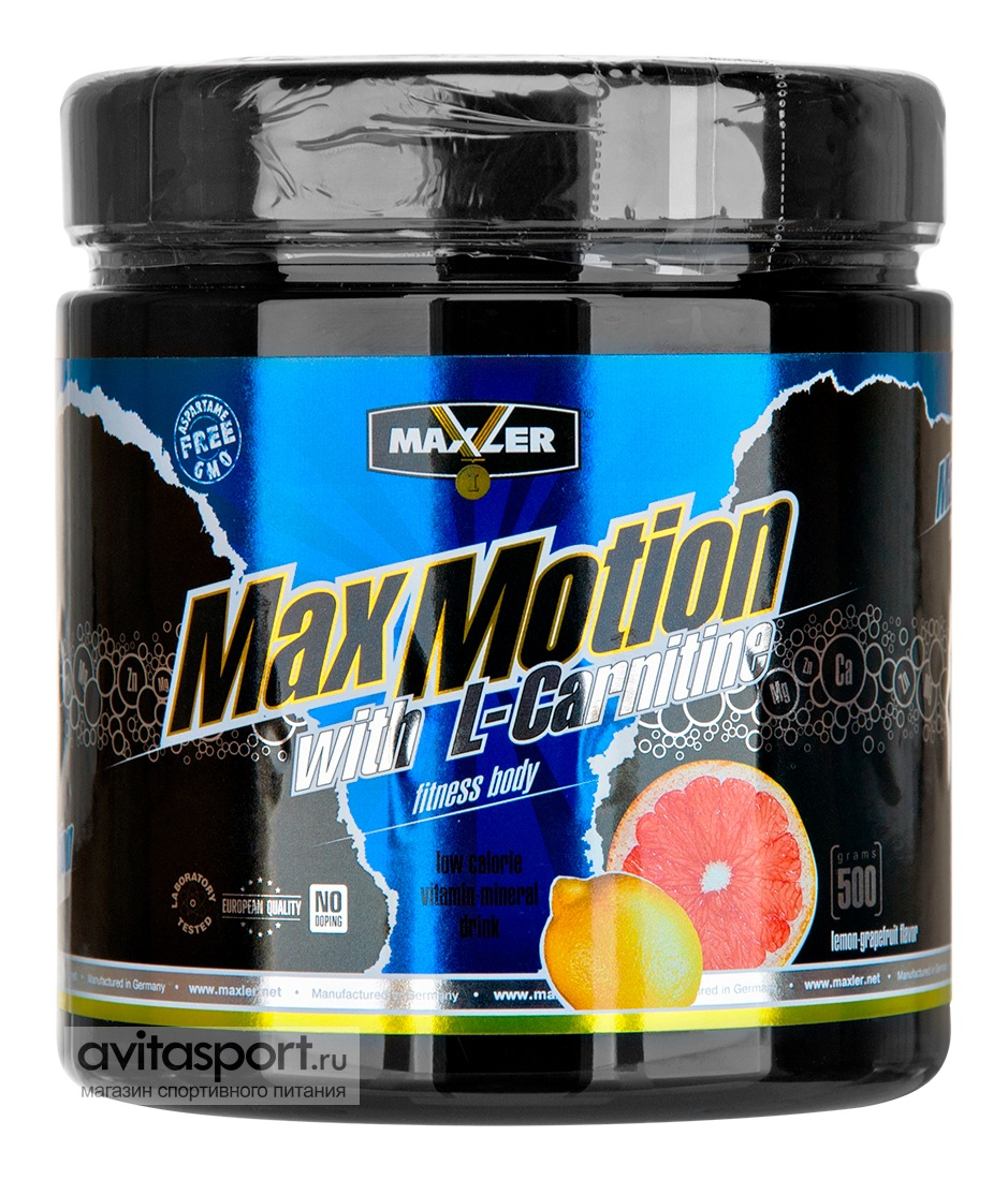 Maxler MaxMotion with L-Carnitine 500 г
