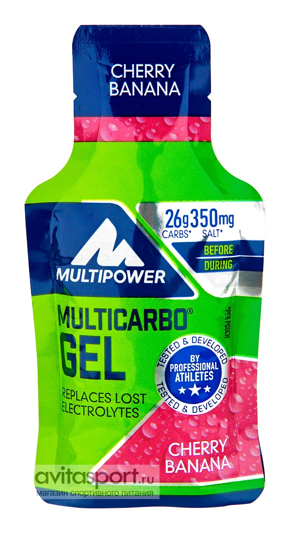 Multipower Multi Carbo Gel 40 г