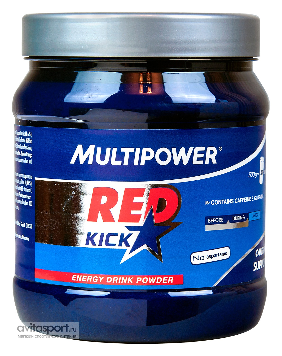 Multipower Red Kick 500 г