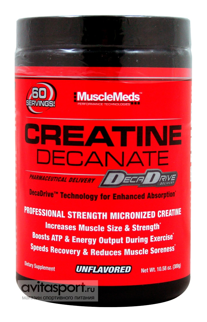 MuscleMeds Creatine Decanate 300 г