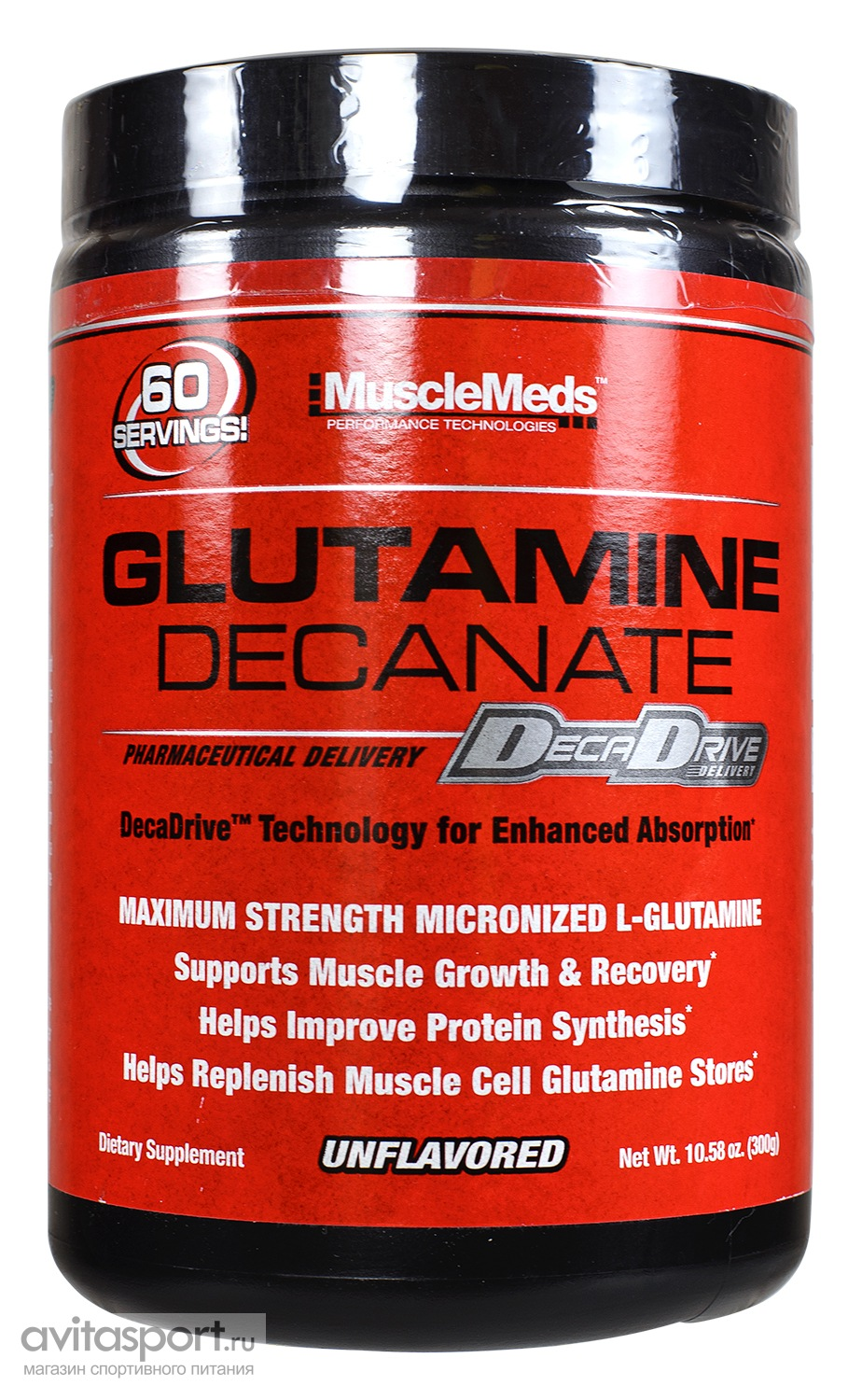 MuscleMeds Glutamine Decanate 300 г