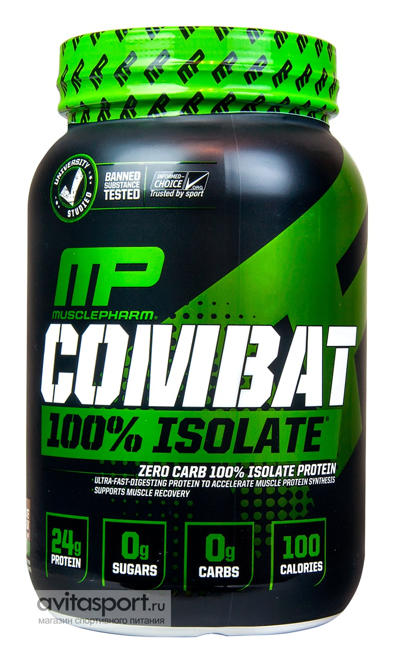 MusclePharm Combat 100% Isolate 907 г
