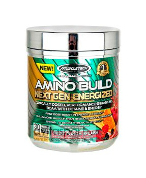 MuscleTech Amino Build Next Gen Energized 30 порций / 263 г