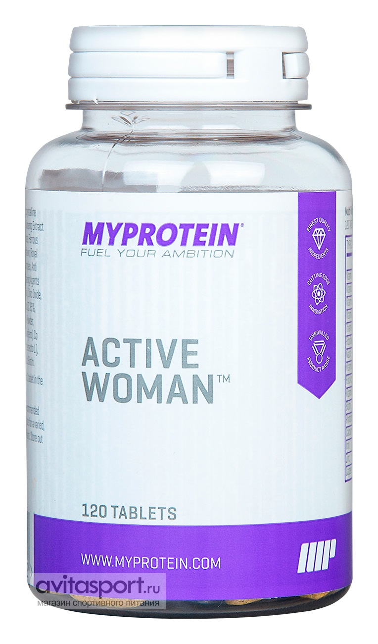 Myprotein Active Woman 120 таблеток