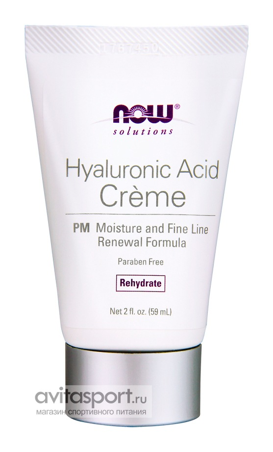 NOW Hyaluronic Acid Creme 59 мл