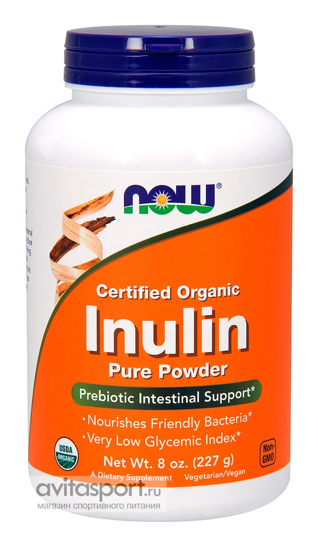 NOW Inulin Powder 227 г